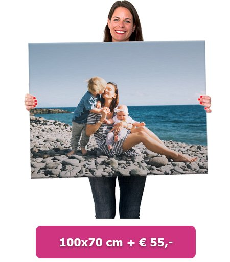 Foto op aluminium 70x50