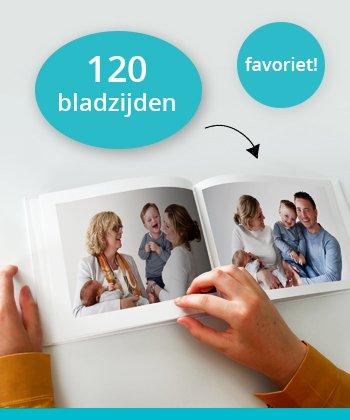 Fotoboek 120 bladzijden