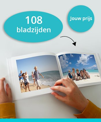 Fotoboek 108 bladzijden
