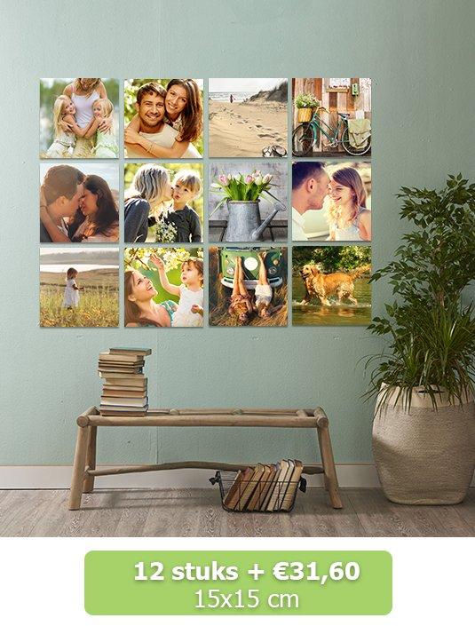 Foto op squares15x15